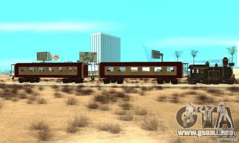 Lokomotiv para GTA San Andreas left