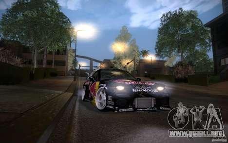 Mazda RX7 Madmikes Redbull para vista lateral GTA San Andreas