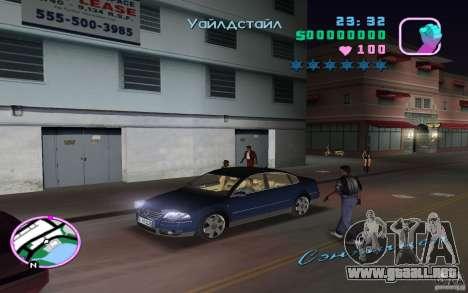 Volkswagen Passat B5+ W8 para GTA Vice City visión correcta