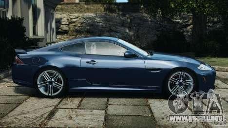 Jaguar XKR-S Trinity Edition 2012 v1.1 para GTA 4 left