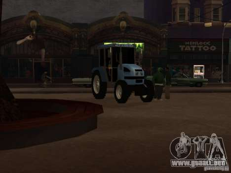 Tractor МТЗ 922 para GTA San Andreas left
