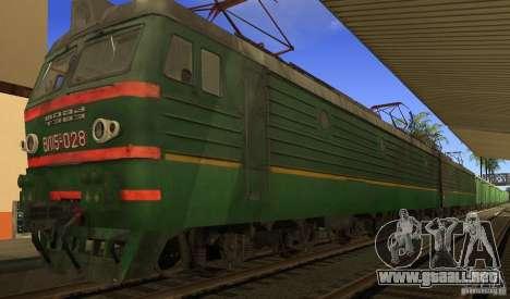 FERROCARRIL mod para GTA San Andreas quinta pantalla