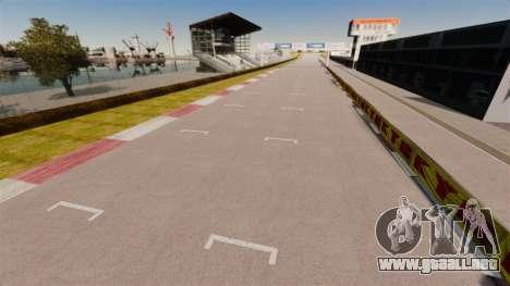 Tsukuba Circuit v3.0 para GTA 4 segundos de pantalla