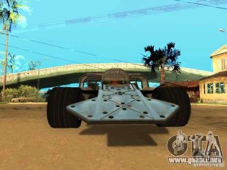 Fast & Furious 6 Flipper Car para GTA San Andreas left