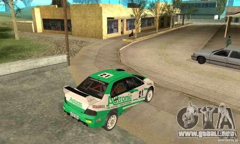 Mitsubishi Lancer Evolution IX para las ruedas de GTA San Andreas