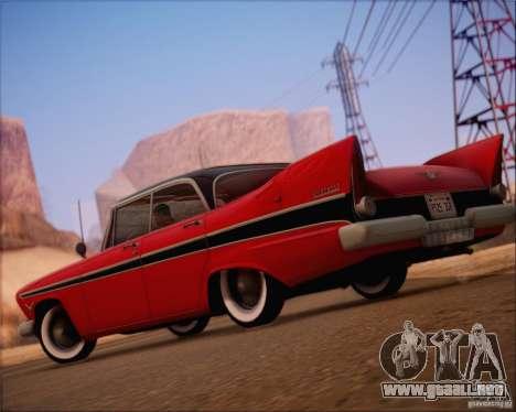 SA_NGGE ENBSeries v1.2 versión jugable para GTA San Andreas sucesivamente de pantalla
