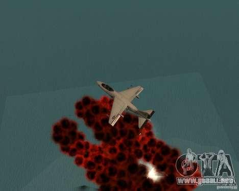 Cluster Bomber para GTA San Andreas sexta pantalla