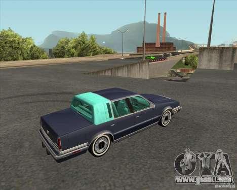 Chrysler New Yorker 1988 para GTA San Andreas left