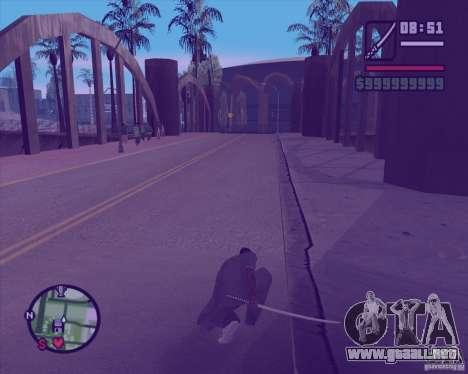 Chidory Mod para GTA San Andreas sexta pantalla