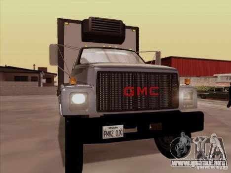 GMC Top Kick 1988 para GTA San Andreas left