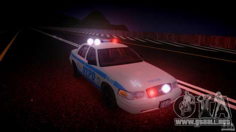 Ford Crown Victoria 2003 Noose v2.1 para GTA motor 4