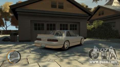 Nissan Silvia s13 Drifted v1.0 para GTA 4 left