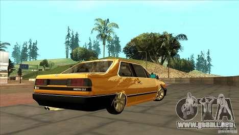Volkswagen Santana GLS para la visión correcta GTA San Andreas