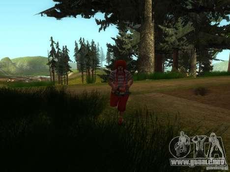 Crazy Clown para GTA San Andreas