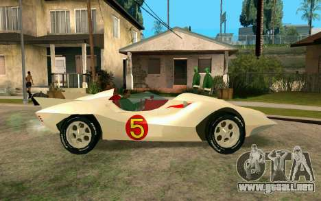 Mach 5 para GTA San Andreas left