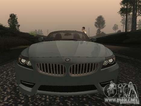 BMW Z4 para la vista superior GTA San Andreas