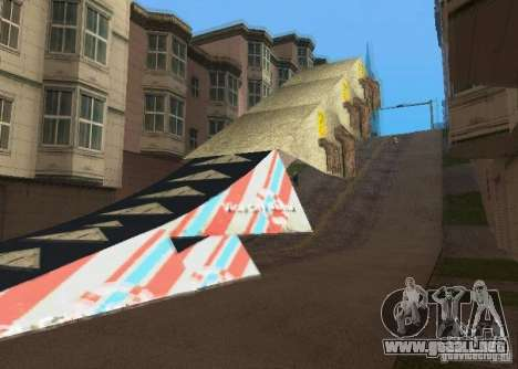 Jump Ramp Stunting para GTA San Andreas segunda pantalla