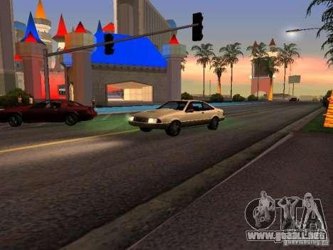 Gráficos de las versiones de consola para GTA San Andreas segunda pantalla