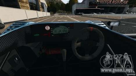 Radical SR3 para GTA 4 vista hacia atrás