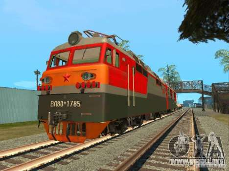 Vl80m-1785 ferrocarriles rusos para GTA San Andreas
