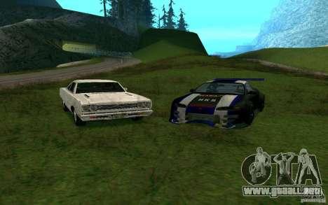 Mitsubishi Eclipse 1999 Sport para GTA San Andreas vista posterior izquierda