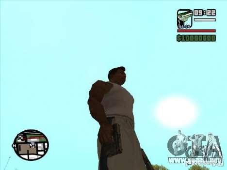 USP 45 para GTA San Andreas segunda pantalla