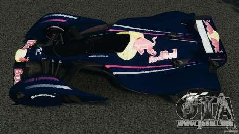 Red Bull X2010 para GTA 4 visión correcta