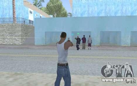 Vista azul para GTA San Andreas tercera pantalla