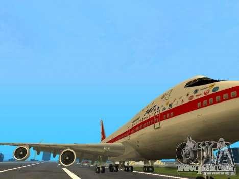 Boeing 747-100 para GTA San Andreas left