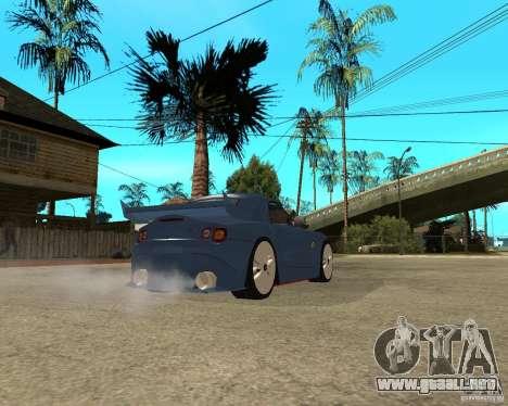 BMW Z4 Supreme Pimp TUNING volume I para la visión correcta GTA San Andreas