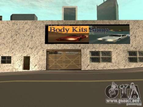 San Fierro Car Salon para GTA San Andreas tercera pantalla