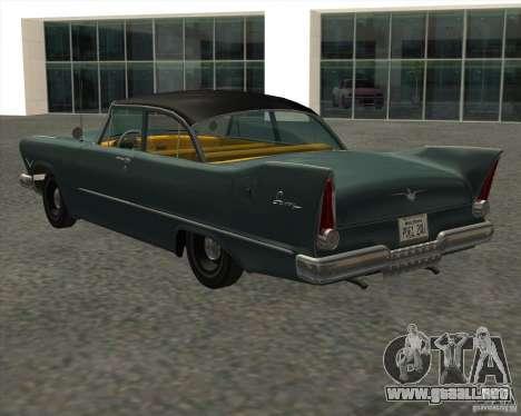 Plymouth Savoy 1957 para GTA San Andreas left