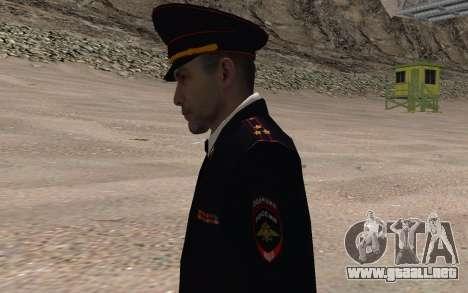 El funcionario del Ministerio del INTERIOR para GTA San Andreas tercera pantalla