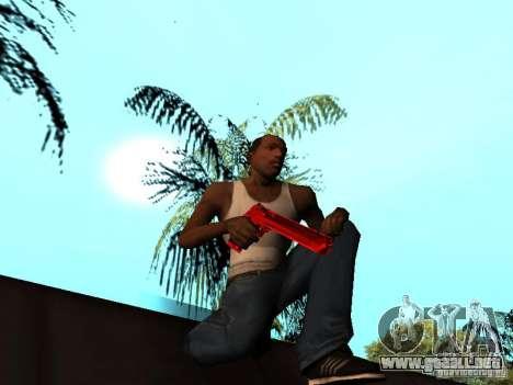 Red Chrome Weapon Pack para GTA San Andreas décimo de pantalla