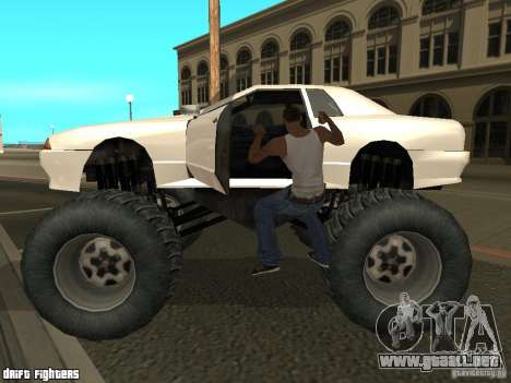 Elegy Monster para GTA San Andreas left