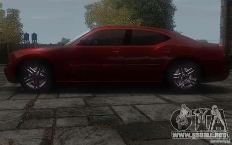 Dodge Charger RT Hemi 2008 para GTA 4 left