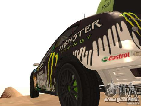Ford Focus RS2000 v1.1 para GTA San Andreas vista posterior izquierda