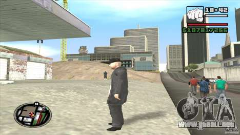 Asesino en serie para GTA San Andreas quinta pantalla