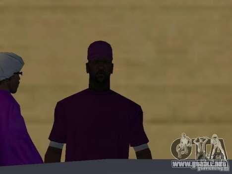 Nuevos aspectos Ballas para GTA San Andreas séptima pantalla