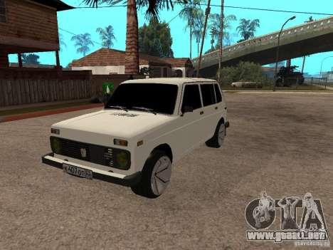 VAZ 2131 para visión interna GTA San Andreas