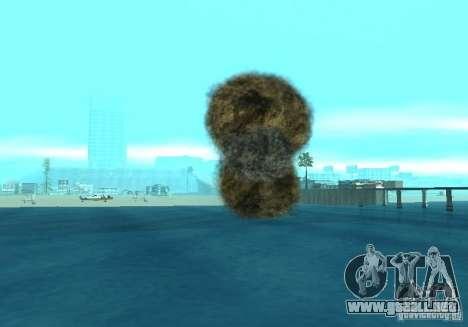 Nuevos efectos de explosiones para GTA San Andreas décimo de pantalla