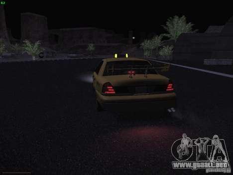 Ford Crown Victoria Taxi 2003 para vista inferior GTA San Andreas