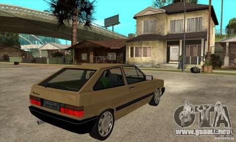 VW Gol GL 1.8 1989 para la visión correcta GTA San Andreas