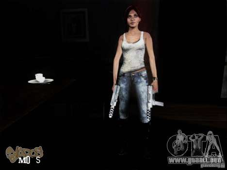 NFS The Run Skins para GTA San Andreas sucesivamente de pantalla