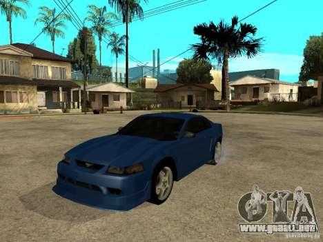 Ford Mustang Cobra R Tuneable para GTA San Andreas