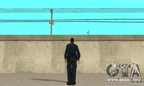 Un oficial de policía de GTA 4 para GTA San Andreas tercera pantalla