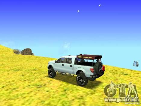 Ford F-150 Off Road para GTA San Andreas left
