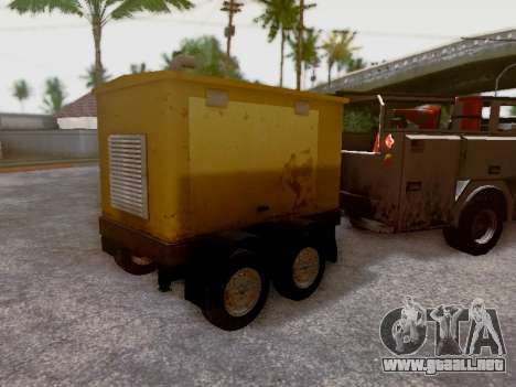 Trailer Generator para vista lateral GTA San Andreas