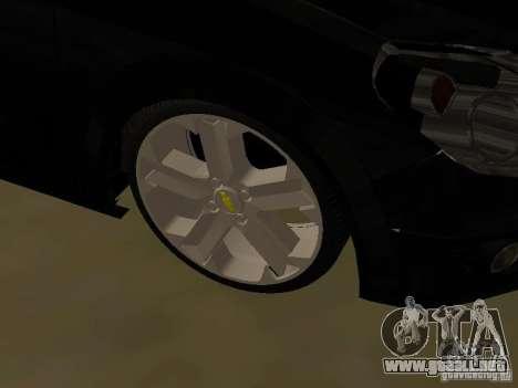 Chevrolet Vectra Elite 2.0 para visión interna GTA San Andreas