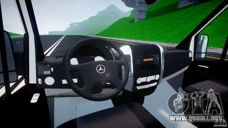 Mercedes-Benz Sprinter Euro 2012 para GTA 4 visión correcta